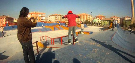 Ankara Skatepark Çıkarması